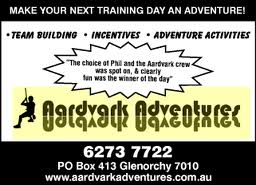 Yellow Pages listing: Aardvark adventures
